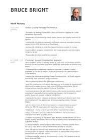 Global Quality Manager Oe Service Resume samples