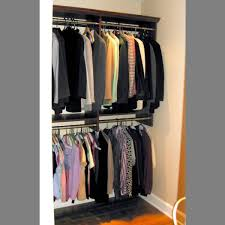 double rod closet extender image of
