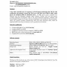 Sample Resume Of Net Developer Sample Resume Of Net Developer Gallery Creawizard With Sample 10