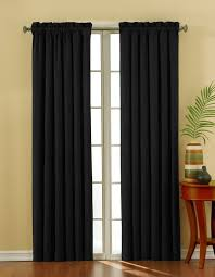 Simple Plain Black Curtain Design Ideas For Sliding Doors And Window  Decoration Ideas.