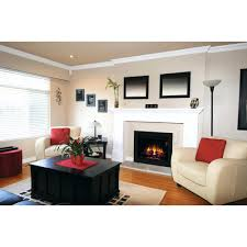 full image for replacement electric fireplace box magic flame fireplaces builders inserts 36 in black firebox