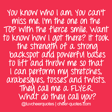 Cheerleading Quotes Gorgeous Cheer Quotes Motivational Cheerleading Quotes