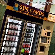Sim Card Vending Machine Haneda