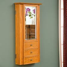 furniture white traditional wall mount jewelry armoire with mirror jewelry armoire wall mount