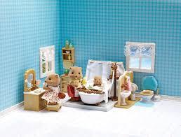 Best Bath Decor bathroom kit : Calico Critters Deluxe Bathroom Set - Toys