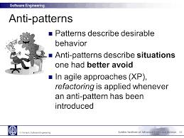 Anti Pattern New N Kokash Software Engineering Ppt Video Online Download
