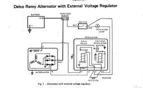 voltage regulator wiring diagram for delco remy alternator voltage regulator wiring diagram for delco remy alternator external voltage regulator