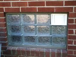 prefab glass block windows prefab glass block panels image of permanent glass block basement windows installing