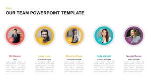 Team Chart Template Our Team Powerpoint Template Keynote Diagram Slidebazaar