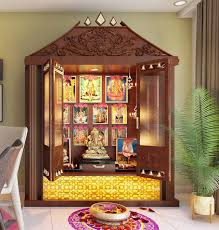 Pooja Area Design Pooja Units Home Interior Designers In Banashankari Home