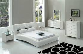 Set Bedroom Furniture Stylish Zimmer 4 Pc Black Crocodile Pattern Bedroom Set Bedroom