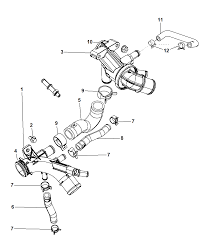 2007 dodge nitro thermostat related parts diagram i2195891