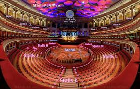 Royal Albert Hall Detailed Seat Numbers Seating Plan