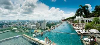 infinity pool singapore wallpaper. Infinity Pool In Marina Bay Sand Singapore Wallpaper