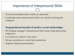 High Interpersonal Skills Ppt Mgt 321 Organizational Behavior Powerpoint Presentation Id