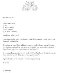 Thank You For The Hard Work Letter Letter To Thank Post Personal Interview Appreciation And
