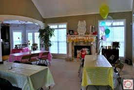 a glimpse inside miss s owl birthday party decorations