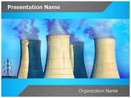 nuclear powerpoint template. Nuclear Power Plant PowerPoint Template Background