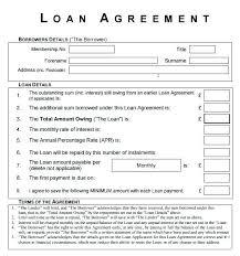 Microsoft Office Contract Template Microsoft Office Loan Agreement Template Microsoft Word Loan