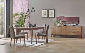 Claudia Esszimmer Set Ausziehbarer Tisch 6 Stühle