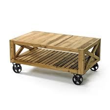 Coffee Table, Offee Tables Wheels And Wine Crate Coffee Table Coffee Tables  With Storage Space: Fantastic Coffee Table With Wheels On Good Looking  Interior