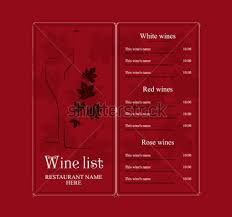Free Wine List Template Download Download Free 26 Wine Menu Templates Free Sample Example Format