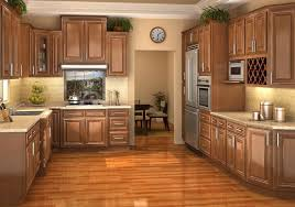 High Quality Cheap Kitchen Cabinets Nj Light Brown Wooden Kitchen Cabinet On The Floor  Hidden Lamp Fixtures Under Images