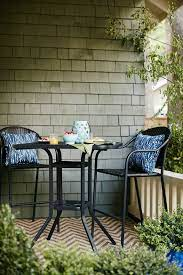 bistro table outdoor bar height patio