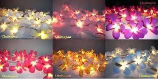 Flower Lights For Bedroom Blue Tone Flower String Girl Lights Flower Lights  Bedroom