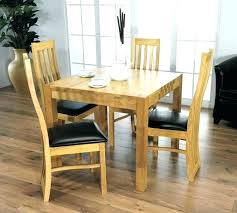 light wood dining table kitchen table with upholstered chairs compact kitchen table and chairs furniture light
