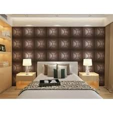 office wall panel. luxury modern 3d leather wall cladding tv background wallpaper royal office panels panel