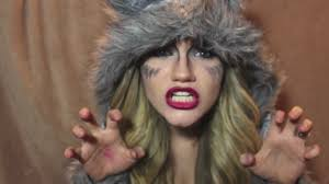 how to make a wolf face with makeup she wolf makeup tutorial you