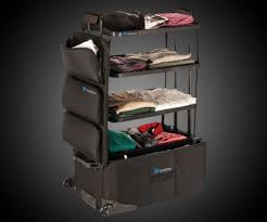 shelfpack the built in shelves suitcase