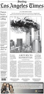 a look at today s 9 11 anniversary newspaper visuals charles apple the illustration