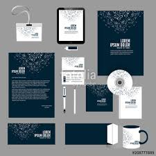 Office Stationery Design Templates Nice And Beautiful Office Stationery Design Templates For