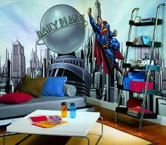 Superman Bedroom Accessories Theme