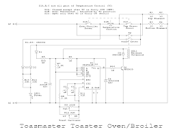 notes on the troubleshooting and repair of small household toastmaster toaster oven broiler schematic