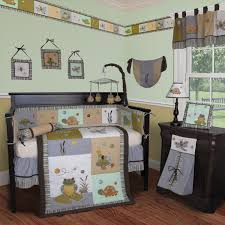 froggie and friends crib bedding collection