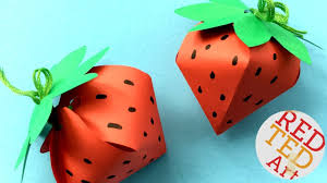 37 Delightful How To Make Strawberry Origami