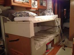 Rv With Bunk Beds Design Modern Bunk Beds Design Rv Dinette Bed Size