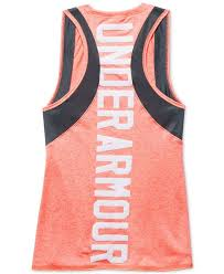 under armour outfits. under armour outfits her to excel in this cool graphic-print tank top, designed o