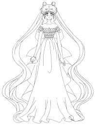 Sailor Moon Crystal Princess Serenity By Misslily1990 On