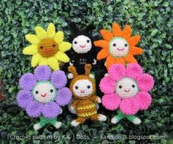 Amigurumi Crochet Patterns Impressive Flowers Ladybug And Bee Amigurumi Crochet Pattern CraftStylish