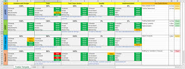 Project Management Microsoft Excel Multiple Project Tracking Template Excel Download Org