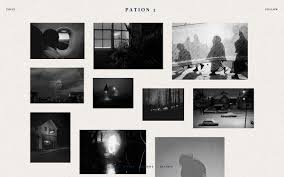 Tumblr Photography Themes Pation Minimalistic Grid Based Theme Zen Themes