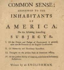 thomas paine s common sense lesson plan common sense