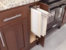 Kitchen Towel Storage Kitchen Cabinet Mounted Towel Bar Kitchen