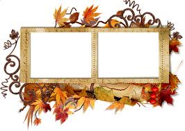free png double transpa autumn frame background best stock photos png images transpa