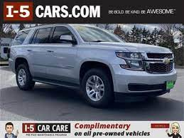 Used Chevrolet Tahoe For Sale In Olympia Wa Cars Com