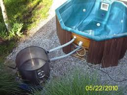 wood fired hot tub heater wood burning stoves forum at permies